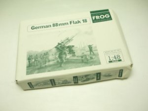 FROG - GERMAN 88MM FLAK 18 - 1/48
