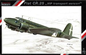SPECIAL HOBBY - FIAT CR.25 - 1/72