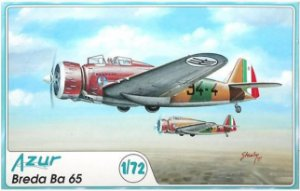 AZUR - BREDA BA 65 - 1/72