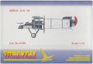 CHOROSZY MODELBUD - AIRCO D.H. 1A - 1/72