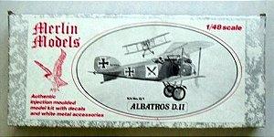 MERLIN MODELS - ALBATROS D.II - 1/72