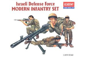 Academy - Israeli Defense Force Modern Infantry Set - 1/35