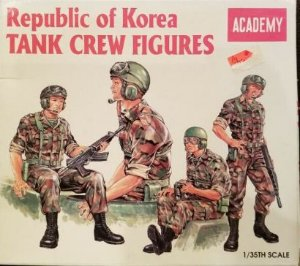 Academy - Republic of Korea Tank Crew Figures - 1/35