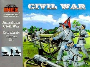 IMEX - CONFEDERATE CANNON SET - 1/32