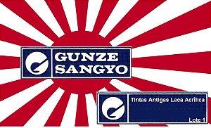Gunze Sangyo - 1º Lote de Tintas Antigas Gunze Sangyo Laca Acrílica
