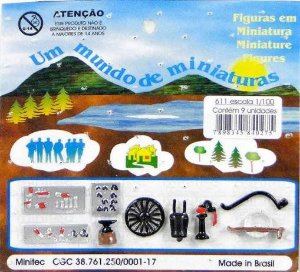 Minitec - Acessórios para Maquete de Ferreiro - 1/100