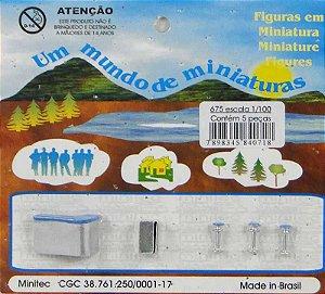 Minitec - Acessórios para Maquete de Bar - 1/100
