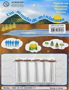 Minitec - Miniaturas de Postes de Rua para Maquetes - 1/200