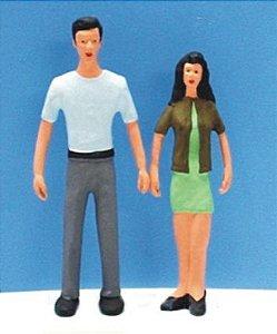 Minitec - Figuras Humanas para Maquete - 1/25