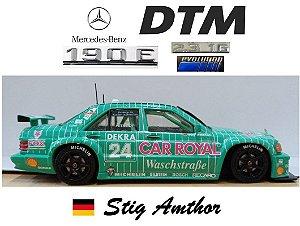 Minichamps - Mercedes-Benz 190E 2.3-16 Evolution 1 AMG  - 1/43