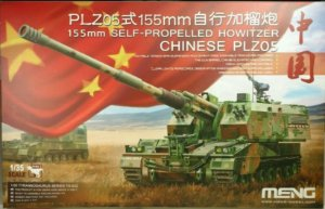 Meng - 155mm Self-Propelled Howitzer Chinese PLZ05 - 1/35