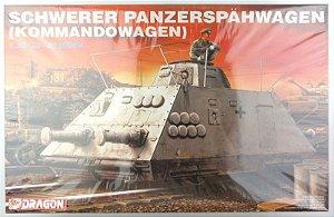Dragon - Schwerer Panzerspähwagen (Kommandowagen) - 1/35