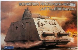 Gunze Sangyo - Schwerer Panzerspähwagen (Artilleriewagen) - 1/35