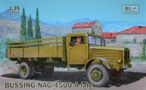 IBG Models - Büssing-Nag 4500A Late Version - 1/35