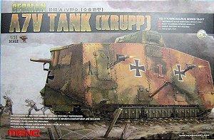 Meng - A7V Tank (Krupp) - 1/35