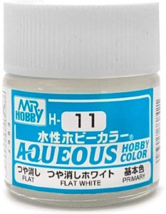 Gunze - Aqueous Hobby Colors H011 - Flat White