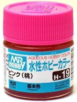 Gunze - Aqueous Hobby Colors H019 - Pink (Gloss)