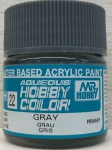 Gunze - Aqueous Hobby Colors H022 - Gray (Gloss)