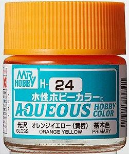 Gunze - Aqueous Hobby Colors H024 - Orange Yellow (Gloss)