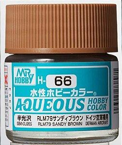Gunze - Aqueous Hobby Colors 066 - RLM79 Dark Green (Semi-Gloss)