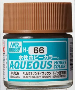 Gunze - Aqueous Hobby Colors H066 - RLM79 Sandy Brown (Semi-Gloss)