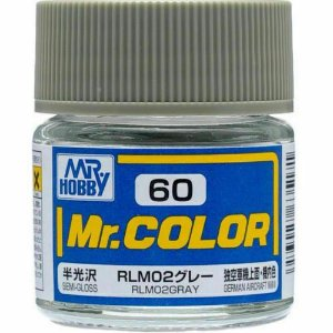 Gunze - Mr.Color 060 - RLM02 Gray (Semi-Gloss)