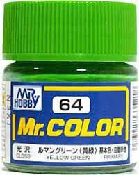 Gunze - Mr.Color C064 - Yellow Green (Gloss)