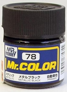Gunze - Mr.Color C078 - Metallic Black