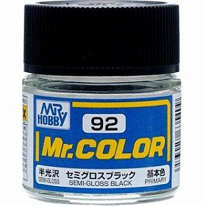 Gunze - Mr.Color 092 - Semi-Gloss Black
