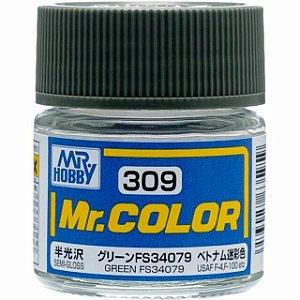 Gunze - Mr.Color 309 - FS34079 Green (Semi-Gloss)