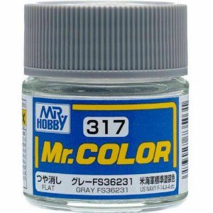 Gunze - Mr.Color 317 - FS36231 Gray (Flat)