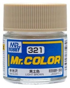 Gunze - Mr.Color 321 - Light Brown (Semi-Gloss)