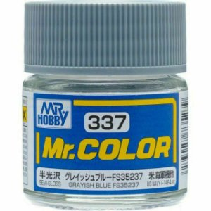 Gunze - Mr.Color 337 - FS35237 Grayish Blue (Semi-Gloss)
