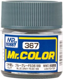 Gunze - Mr.Color 367 - FS35189 Blue Gray (Flat)
