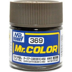 Gunze - Mr.Color C369 - BS381C/450 Dark Earth (Flat 75%)