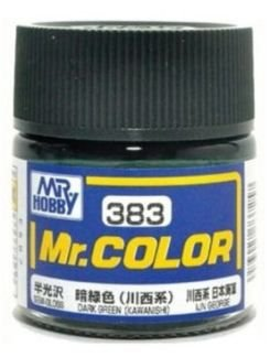 Gunze - Mr.Color 383 - Kawanishi Dark Green (Semi-Gloss)
