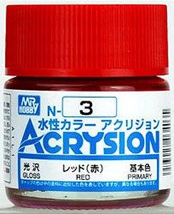 Gunze - Acrysion  N003 - Red (Gloss)