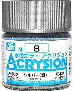 Gunze - Acrysion  N008 - Silver (Metallic)