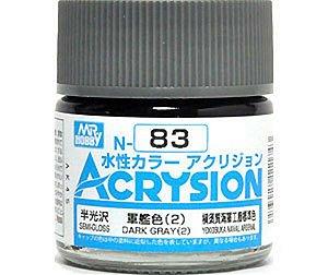 Gunze - Acrysion  N083 - Dark Gray (2) (Semi-Gloss)