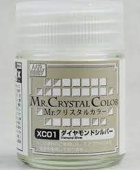 Gunze - Mr. Crystal Color XC01 - Diamond Silver (Verniz Perolizado)