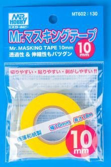 Gunze - Mr. Masking Tape (Fita para máscara de modelismo) - 10mm