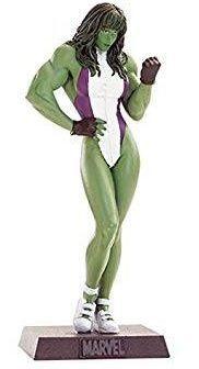 Eaglemoss - Mulher-Hulk (She-Hulk) - Figura em Metal