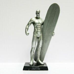 Eaglemoss - Surfista Prateado (Silver Surfer) - Figura em Metal