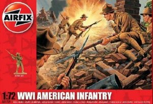 AIRFIX - WWI AMERICAN INFANTRY - 1/72