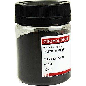 NOVIDADE - Cromacolor - Pigmento Preto de Marte 100g