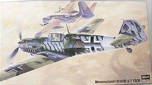 Hasegawa - Messerschmitt Bf-109E-4/7 TROP - 1/48