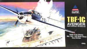 ACCURATE - TBF-1C AVENGER 1/48 (SUCATA)