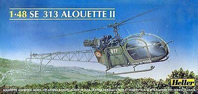 HELLER - SE313 ALOUETTE II 1/48 (SUCATA)