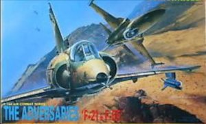 DRAGON - THE ADVERSARIES F-21 & F-5E 1/144 (SUCATA)