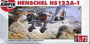 AIRFIX - HENSCHEL HS123A-1 1/72 (SUCATA)